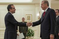 Cumhurbaşkanı Erdoğan, ABD Büyükelçisi Bass'i kabul etti