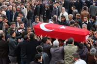 Ermenek'te madencinin cenazesi toprağa verildi
