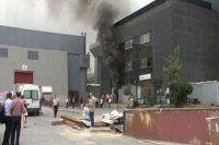 CNR Fuar Merkezi'nde korkutan yangın!