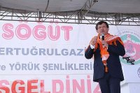 Başbakan Ahmet Davutoğlu Bilecik'te halka hitap etti
