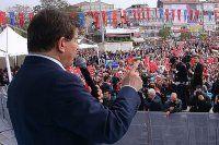 Başbakan Davutoğlu, Aksaray-Yenikapı metro hattı açılışında konuştu