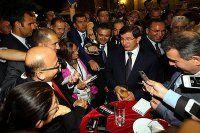 Davutoğlu, 'Hepimizin muhatabı cumhurbaşkanıdır'