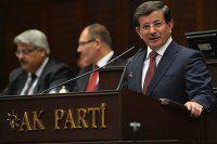 Başbakan Davutoğlu ilk grup toplantısında konuştu