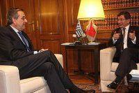 Başbakan Davutoğlu ve Samaras'tan ortak açıklama