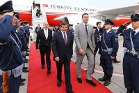 Davutoğlu Yunanistan Cumhurbaşkanı ve Başbakanı'yla görüştü