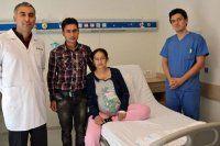 Denizli'de hamile hastaya kalp ameliyatı