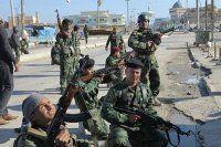 Enbar kentine hava saldırısı, 6 ölü 15 yaralı