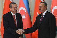 Erdoğan, Aliyev'le ortak basın toplantısı düzenledi