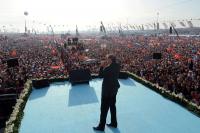 AK Parti'nin Yenikapı mitinginde Başbakan'a destek tamdı