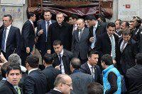 Erdoğan, cuma namazını Valide Sultan Camisi'nde kıldı