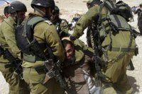 Gözaltına alınan Filistinlilere işkence