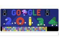 Google'dan 'yeni yıl' kutlaması