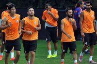 Galatasaray 10 eksikle çalıştı