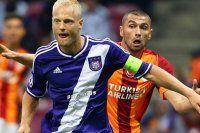 Galatasaray Anderlecht maçında ilk 11'ler belli oldu