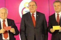 Galatasaray'da adayların renkeri belli oldu