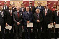 Galatasaray'da mazbata töreni yapıldı