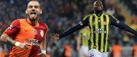 Galatasaray 1 -Fenerbahçe 0 maçı-CANLI (İlk yarı sona erdi)