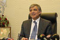 Abdullah Gül sevinç tebriklerini bildirdi