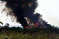 Ermenistan'ın askeri helikopteri düşürüldü