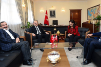 Yalçın Akdoğan, HDP heyetini kabul etti