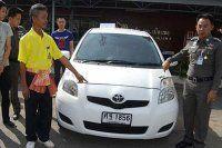 Arabasını çalan hırsıza teşekkür etti