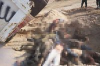 Suriye'den dehşet verici IŞİD görüntüleri bu kez onlar kesildi!