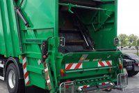 Çöp kamyonunda görülmemiş ölüm