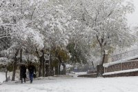 Kar yollları kapattı, okullar tatil edildi