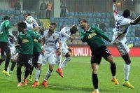 Karabükspor maçı uzatmalarda söktü aldı