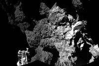 Kuyruklu yıldıza inen uzay aracı modülünden ilk fotoğraf geldi