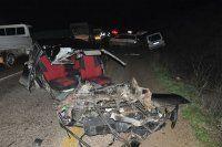 İnegöl'de zincirleme kaza 1 ölü, 3 yaralı