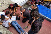 Özcan Deniz'in filminde kaza! 2 oyuncu yaralandı