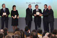 Kültür ve Sanat Büyük Ödülleri sahiplerine verildi