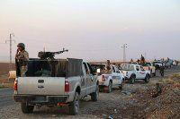 Kobani'ye gidecek Peşmergenin ağır silahları yola çıktı