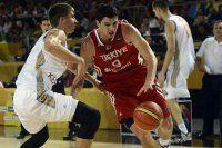 A Milli Basketbol takımımız Ukrayna'ya mağlup oldu