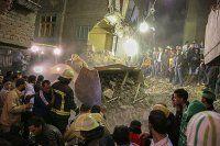 Mısır'da 6 katlı bina çöktü, 12 ölü