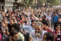 Mısır'da darbe karşıtı gösterilerde 2 öğrenci öldü