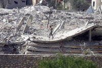 Mısır Gazze sınırındaki evleri yıkıyor