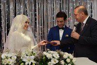 Cumhurbaşkanı Erdoğan nikah şahitliği yaptı