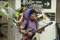 New York'ta 'tek kişilik orkestra''