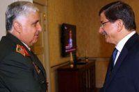 Başbakan Davutoğlu, Genelkurmay Başkanı Özel'i kabul etti