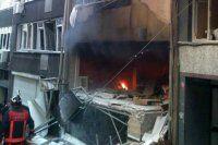 Taksim'de doğalgaz patlaması, 6 yaralı