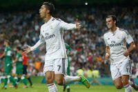 Bernabeu'da Ronaldo şov yaptı