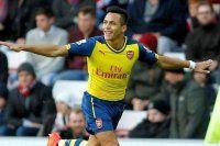 Arsenal Sanchez ile coştu
