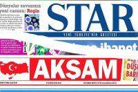 Star Gazetesi ve Akşam Gazetesi'nde yeniden yapılanma