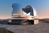 Dünyanın en büyük teleskobu Şili'de inşa ediliyor