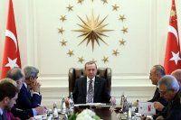 Köşk'teki kritik toplantı 2,5 saat sürdü