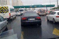 Yağmur bu sabah İstanbul trafiğini felç etti
