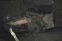Uşak'ta feci kaza, 3 ölü