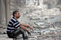 İdlib'te varil bombalı saldırı